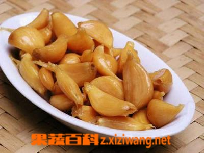 果蔬百科家庭腌糖蒜的方法